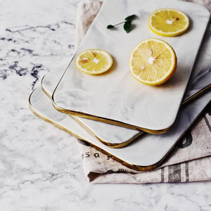 Toscana Marble Serving Plate