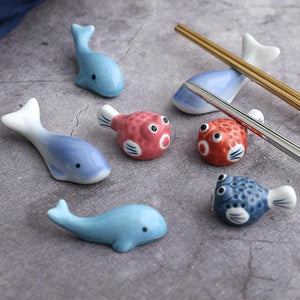 Fish Chopstick Holder