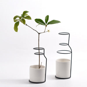 Less is more Flower Vases Set.