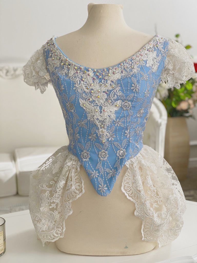 Cinderella Inspired Modest Corset Tutorial