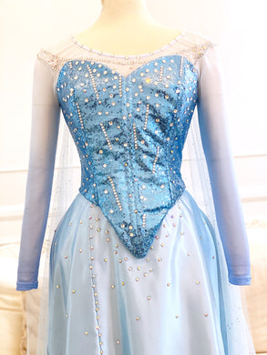 Classic Elsa Corset and Mesh top tutorial pt 1