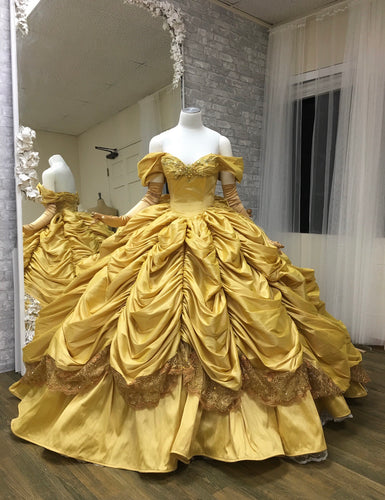 Belle inspired ball gown