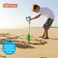 Metal Detector with LCD Screen | Beach Toy | Summer Toy | Backyard Toy | Eco Friendly & Nature Exploration Toy | Great for Ages 5+