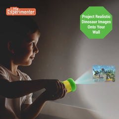 Dinosaur Projector | Story Time on The Walls | 24 Images of Dinos for Your Little One's Curious Mind | Batteries Included! Ages 3+
