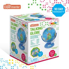 Interactive World Globe with Stand and Smart Pen | Engaging, Colorful Geographic Map for Teaching and Early Learning | Active Play, Voice Recordings, Trivia Questions, 9