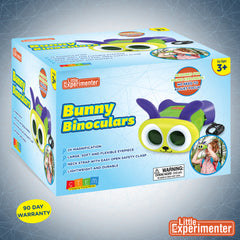 Bunny Binoculars for Kids Toy - Binoculars for Toddlers - Lightweight & Durable