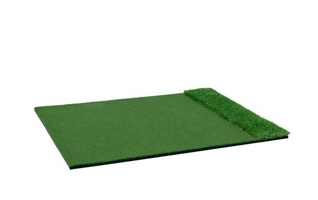 StrikeDown Dual-Turf Tour Golf Mat (4 x 5 Feet)