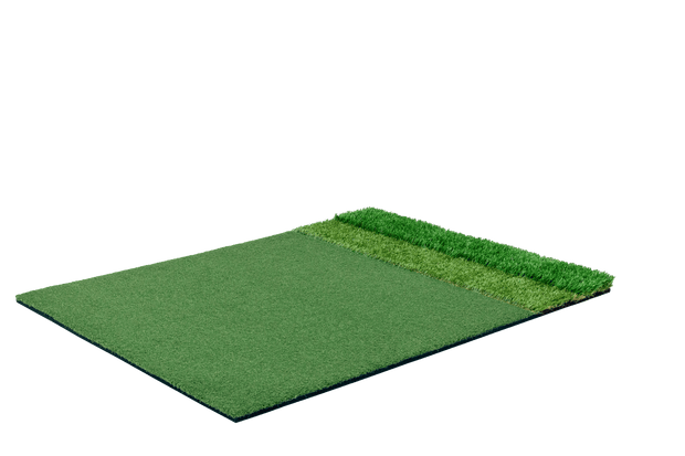 StrokeSaver Tri-Turf Tour Golf Mat (4 x 5 Feet)