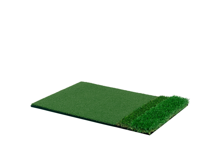 StrokeSaver Tri-Turf Plus Golf Mat (2 x 3 Feet)