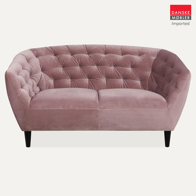 Ria Rose Velvet 2 Seater Sofa