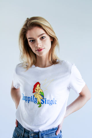 Happily Single Women Relaxed Tee