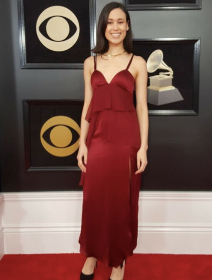 WWD Editor at the Grammys