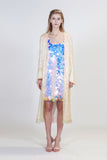 Aria Robe Iridescent Sequins