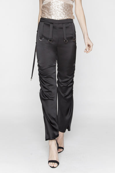 Black Updated Aaliyah Pants