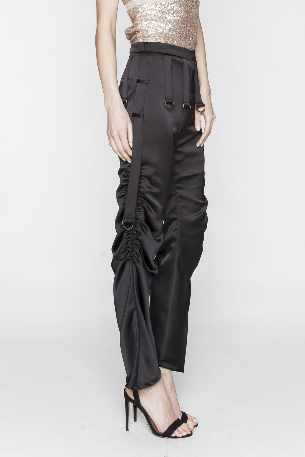Black Updated Aaliyah Pants - Arianne Elmy