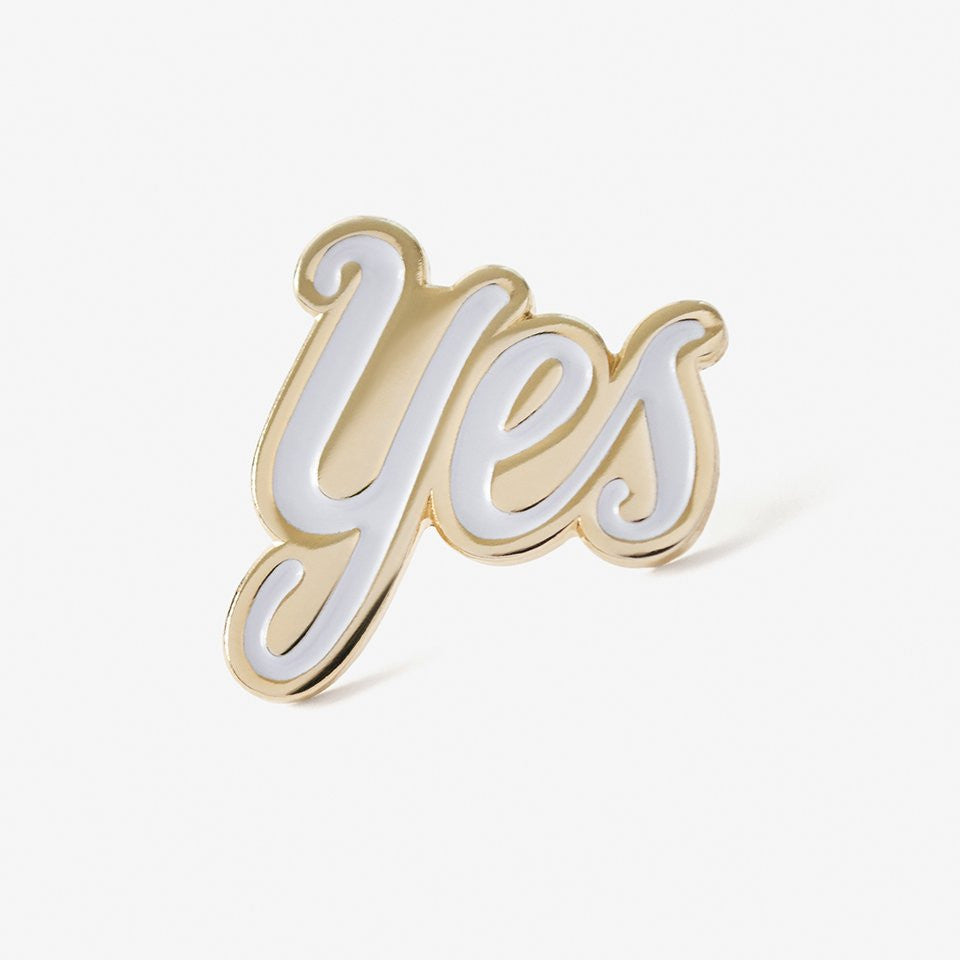 Yes Lapel Pin