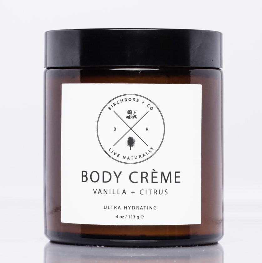 Rich vanilla and citrus body cream