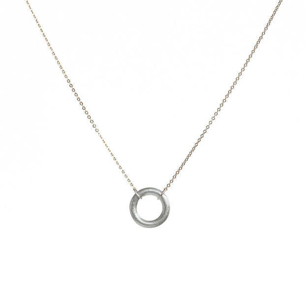 Full Circle Rose Gold Necklace