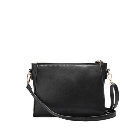 I Own Too Much Black Tassel Crossbody