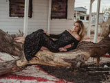 Arabella Black Sequin Maxi Dress-luxofchic-luxofchic