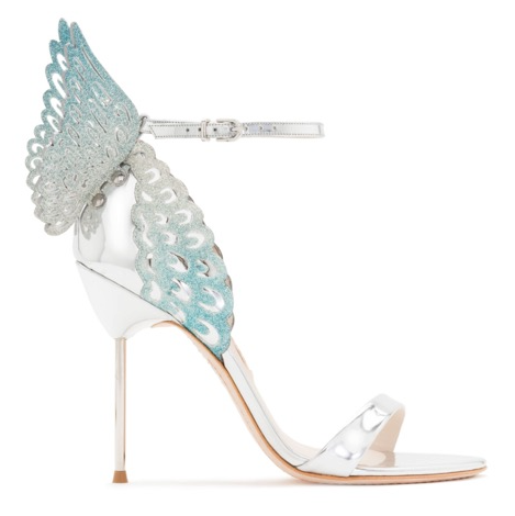 d880d1456bd3c Angel Leather Sandals Lake Blue and Silver-luxofchic-luxofchic
