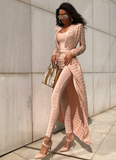 Julina Nude Two Piece-luxofchic-luxofchic