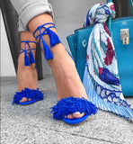 Berdi Bleu Suede Leather Sandals-luxofchic-luxofchic