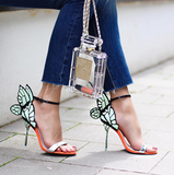 Angel Mint Wings Sandal-luxofchic-luxofchic