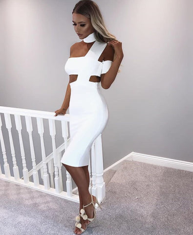 Kaila White Dress-luxofchic-luxofchic