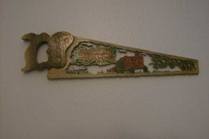 Tractor Handsaw Wall Hanging