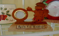 Teacher Clock or Frame