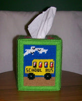 School Days Tissue Box Holder