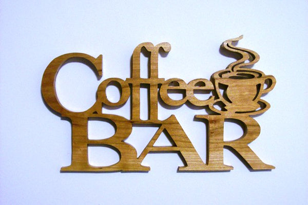 Coffee Bar Wall Hanging