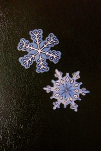 Pair of Snowflake Magnets