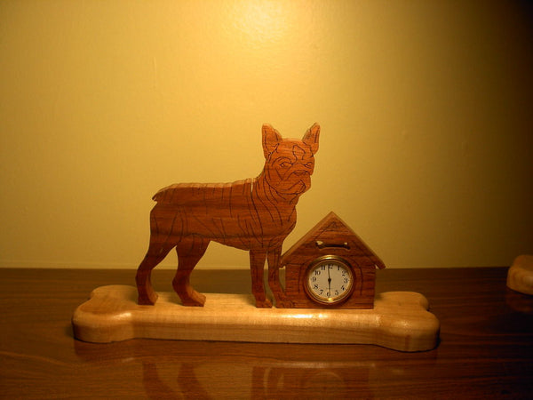 Boston Terrier Clock or Frame