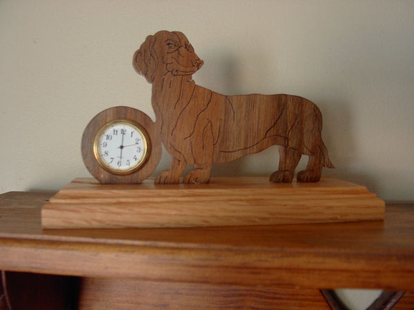 Dachshund Clock or Frame