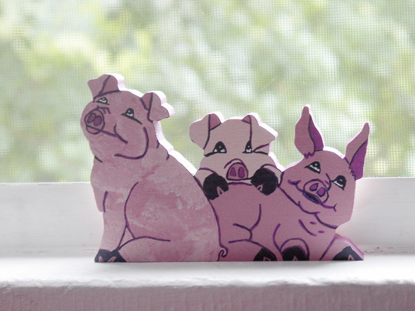 3 Pigs Shelf Sitter