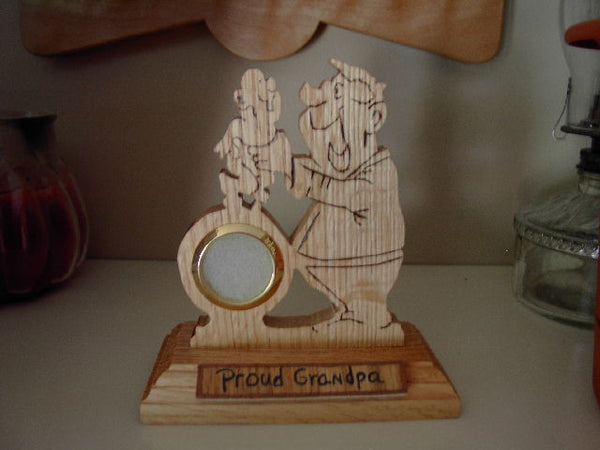 Proud Grandpa Clock or Frame