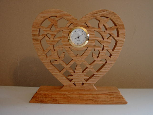 Heart Clock - Design 3