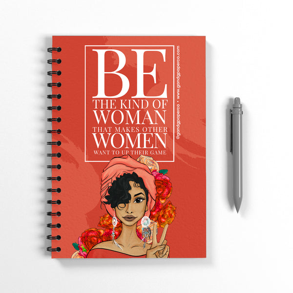 Be the Woman Notebook