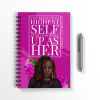 Visualize Your Highest Self Notebook