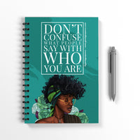 Who You Are Notebook