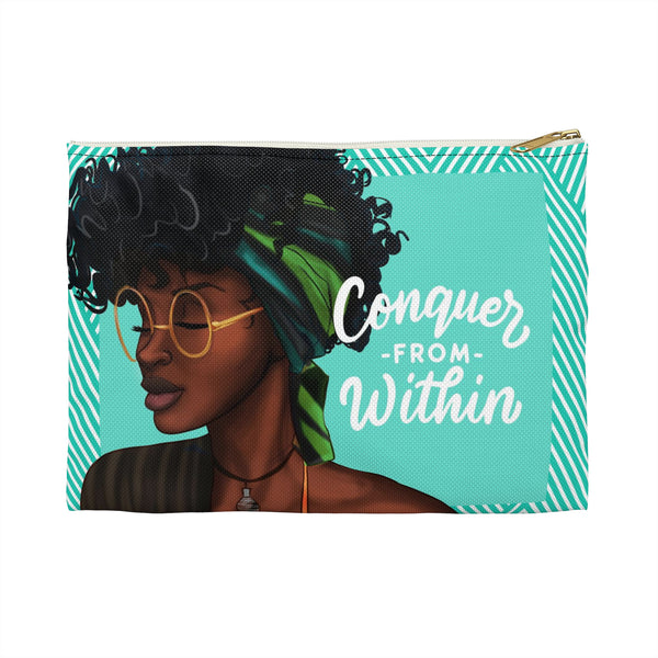 Conquer From Within Carry All Pouch