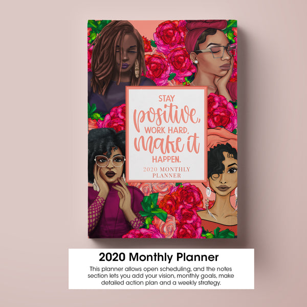 2020 Inspired Monthly Planner