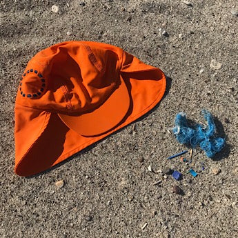 Orange/ blue legionnaire's hat