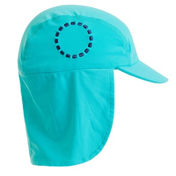 Turquoise/ blue legionnaire's hat - small
