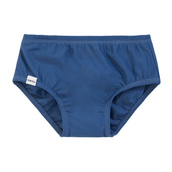 Blue swim nappy cover