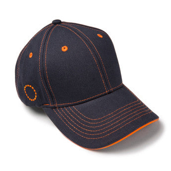 Blue/ orange baseball cap - small