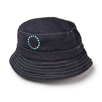 Blue/ turquoise bucket hat - small