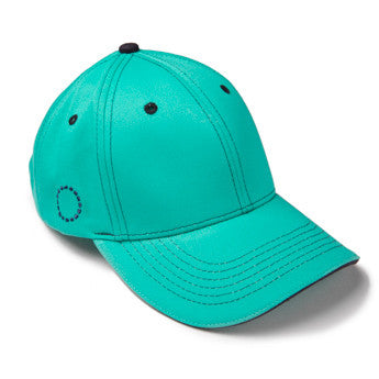 Turquoise/ blue baseball cap - small